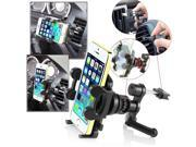 eForCity Swivel Car Air Vent Phone Holder Mount compatible with Apple iPhone 5