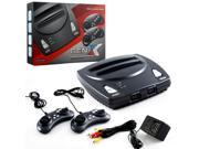 Retro Bit 2 In 1 8 bit And 16 Bit Controllers AC Adapter And AV Cables For Sega Genesis cartridges