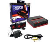 Retro-Bit Top Loader 8-bit Console For Nintendo Entertainment System Black/Red