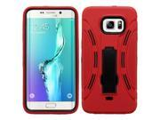 Samsung Galaxy S6 Edge Plus Case, eForCity Symbiosis Dual Layer [Shock Absorbing] Protection Hybrid Stand Rubber Silicone/PC Case Cover For Samsung Galaxy S6 Ed 9SIA0PG3BS7789