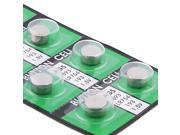 eForCity Pack of 20-Piece AG5 393A LR48 LR754 Button Cell Coin Lithium Battery