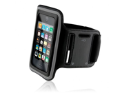 Naztech Sports Armband & Screen Protector - iPhone / 3G / 3GS / iTouch - Black
