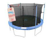 Upper Bounce 10' Trampoline Enclosure Safety Net Fits For 10 FT. Round Frames Using 6 Poles or 3 Arches (poles not included)