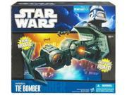Star Wars 2010 Clone Wars Exclusive Deluxe Vehicle Imperial Tie Bomber Action Figure 9SIV16A6773035
