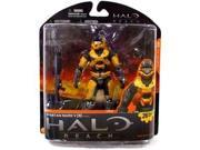Halo Reach McFarlane Toys Series 1 Exclusive Action Figure ORANGE Spartan Mark V B (Male)