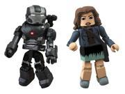 Diamond Select Toys Series 49 Marvel Minimates Iron Man 3: War Machine and Maya Hansen Action Figure 9SIA17P6M72619
