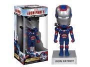 Iron Man 3 Movie Iron Patriot 7-Inch Bobble Head 9SIA0PN11N3113
