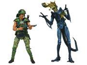 Aliens 7-In Hicks V Blue Warrior Action Figure Set 2 Pack 9SIA3XE1GX6065