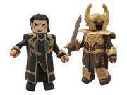 Thor 2: Series 53 Loki and Heimdall Minimate Action Figures 9SIA0PN18V1387