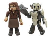 Thor 2 The Dark World Series 53 Darcy and Dark Elf Minimate Action Figures 9SIA0PN18V1739