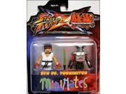 Diamond Select Toys Street Fighter X Tekken Minimates Series 2: Ryu vs Yoshimitsu, 2-Pack 9SIA0190JA3502