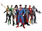 DC Comics New 52 Justice League 7 Pack Action Figure Box Set 9SIA0193NB9049