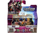 Guardians of The Galaxy Minimates Series 57 Mini Figure 3-Pack Drax, Rocket & Groot 9SIA17P5TH0776