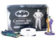Batman Chassis Art Collection 1950 Two Face Figure Car Diecast