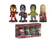 Avengers Age of Ultron Mini Wacky Wobbler 4-Pack