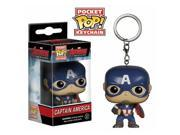 Avengers Age of Ultron Captain America Pocket Pop! Vinyl Figure Key Chain 9SIAA7640R8236