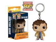 Doctor Who Pocket POP Tenth Doctor Vinyl Figure Keychain