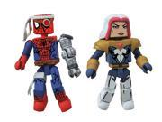 Marvel Minimates Fan's Choice Series Cyborg Spider-Man and Songbird Action Figure 9SIA0PN27D3541