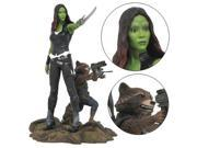Marvel Gallery Guardians of the Galaxy Vol. 2 Gamora and Rocket Raccoon Statue 9SIAD186NM8567
