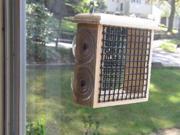 Coveside Window Suet Bird Feeder (9SIAD247WM7630 22600) photo