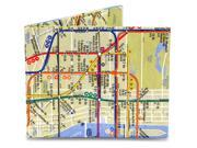 Dynomighty Mighty Wallet NYC Subway Map