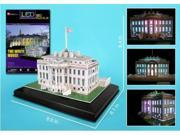 Daron The White House LED 3D Jigsaw Puzzle - 64 Pieces