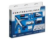 Daron United Airlines Die-Cast Airport Play Set