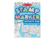 Melissa & Doug Stamp Marker Activity Pad in Blue