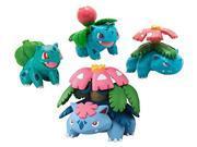 Pokemon X & Y Bulbasaur, Ivy Saur, venusaur, Mega Venusaur Mini Figure 4-Pack 9SIABHU59N1635