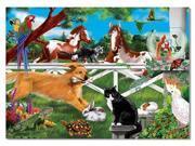 Melissa and Doug Playful Pets Cardboard Jigsaw (30 pc)