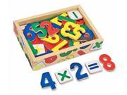 Melissa & Doug 449 Magnetic Wooden Numbers 9SIAD2459X8443