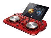 Pioneer - DDJ-WEGO2-R - Compact DJ Controller-Red