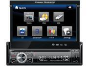 Power Acoustik In-Dash DVD AM/FM Receiver with 7-Inch Flip-Out Touchscreen Monitor and USB/SD Input