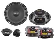 "PYLE PLSL650K 6.5"" SLIM MOUNT KIT 2-WAY COMPONENT W/ 300 WATTS MAX & 4 OHM IMP"