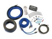 Kicker CK4 Complete 4-gauge amplifier wiring kit — includes 2-channel patch cable and speaker wire