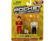 DC Comics Pocket Super Heroes: Shazam and Sivana Action Figure 2-Pack