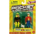 DC Comics Pocket Super Heroes: Golden Age Hourman and the Flash Action Figure 2-Pack
