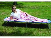 Pink Camouflage Fleece Sleeping Bag / Liner