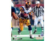 Image of Marshall Faulk St Louis Rams NFL Hand Signed 8x10 Photograph Super Bowl Rushing