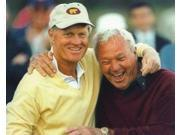 Image of Arnold Palmer and Jack Nicklaus PGA Golf 8x10 Photograph Hugging and Smiling