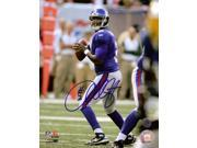 Image of Anthony Wright NFL New York Giants Hand Signed 8x10 Photograph Passing
