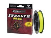 SpiderWire Stealth Braid - Hi-Vis Yellow  10 lb./300 yd.