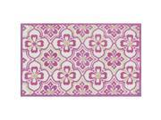 Loloi Zoey 2' x 3' Rug in Purple and Green