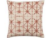 Surya Nebula Poly Fill 18 Square Pillow in Red
