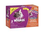 ADMC 12 Pack Whiskas Tb Cat Food 01935