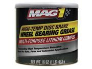 MAG 1 Red Wheel Bearing Grease 1 lb. NLGI Grade 2 MG620012
