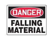 Accuform Signs Danger Sign Falling Material 24 x 36 In MEQM213VP