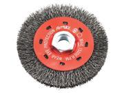 Forney Industries 4 Crimped Wire Wheel 72788
