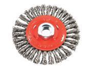 Forney Industries 4 Stringer Wire Wheel 72760