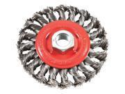 Forney Industries 4 Twist Knot Wire Wheel 72759